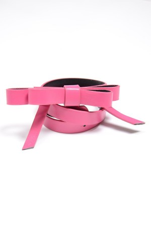 Girl's pink belt, style 0610