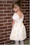 Girls' Jacquard Floral Occasion Dress, style 1532